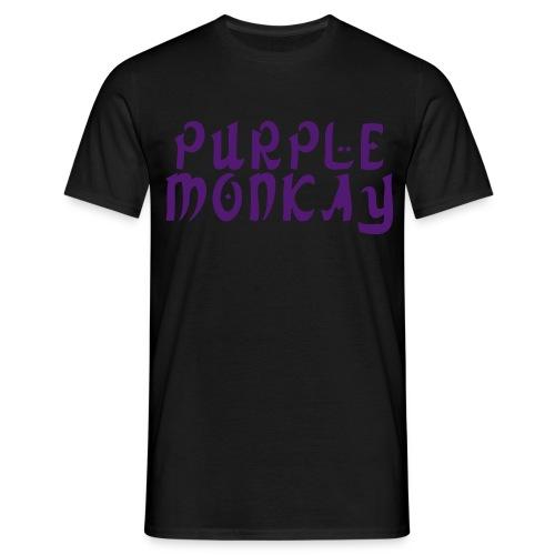 PURPLEMONKAY SHIRT MEN - Mannen T-shirt