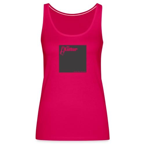 Tanz-Kultur Audio (Slim-Fit T-Shirt) Dark - Frauen Premium Tank Top