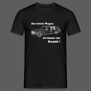 Der letzte Wagen - Männer T-Shirt