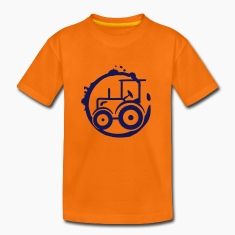 A tractor Graffiti Shirts