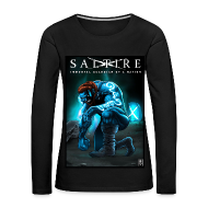 Long Sleeve Shirts ~ Women's Premium Longsleeve Shirt ~ Saltire Invasion long sleeve Tshirt