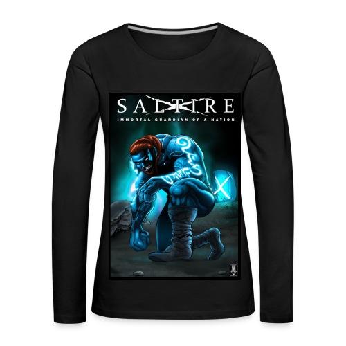 Saltire Invasion long sleeve Tshirt - Women's Premium Longsleeve Shirt