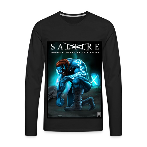 Saltire Invasion long sleeve Tshirt - Men's Premium Longsleeve Shirt