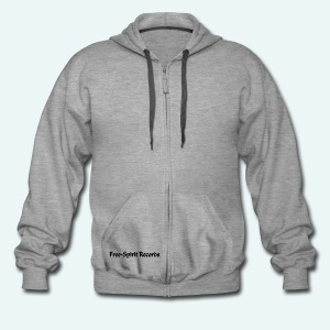 Men's Standard Zip Hoodie - Free-Spirit - Men's Premium Hooded Jacket
