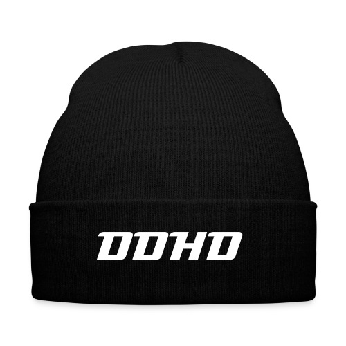 DDHD Hat w/ white letters - Winter Hat