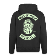 Sweat-shirts ~ Veste à capuche Premium Homme ~ Sons Of Yooop - Avec tirette
