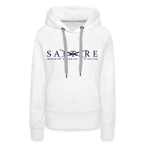 Saltire logo Hoodie Womens - Women's Premium Hoodie