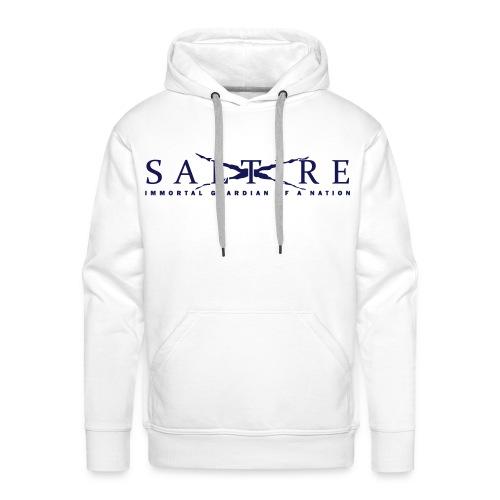 Saltire Logo Hoodie Mens - Men's Premium Hoodie