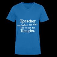 T-Shirts ~ Männer T-Shirt mit V-Ausschnitt ~ Herren-Shirt V-Ausschnitt Motiv Basti Image