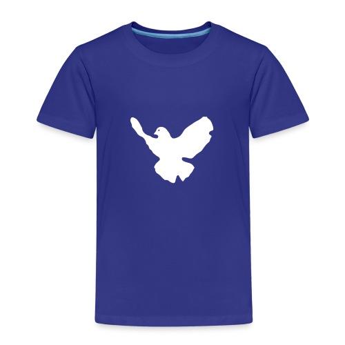 ≡ Friedenstaube 2 Seiten - Kinder Premium T-Shirt
