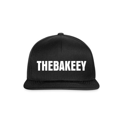 Snapback Cap - Snapback with TheBakeey printed.
