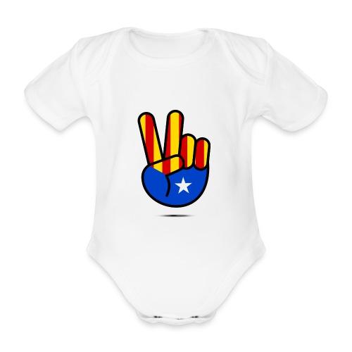 VICTÒRIA - Organic Short-sleeved Baby Bodysuit