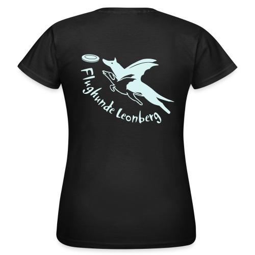 Frauen-T-Shirt freie Farbwahl power reflex + Name auf der Vorderseite - Frauen T-Shirt