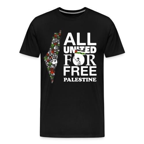 Free palestina! - Mannen Premium T-shirt