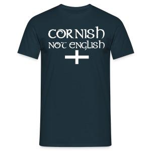 Cornish Not English T-Shirt - Men's T-Shirt