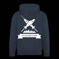 Pullover & Hoodies ~ Männer Premium Kapuzenjacke ~ Steckerlfisch - Buam Hoodie