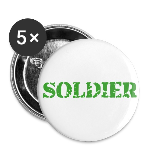 Soldier badge - Buttons large 56 mm