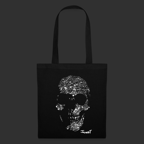 Skull Tote Bag One Sided - Tote Bag