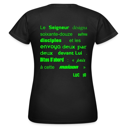 Envoie en mission - Femme - T-shirt Femme