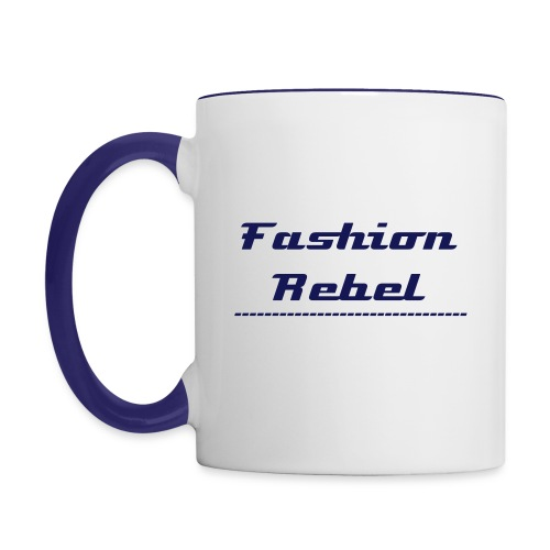 Fashion rebel Mug - Contrasting Mug
