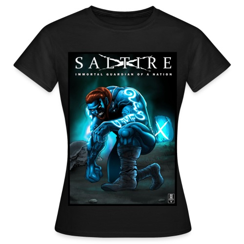 Saltire Invasion TShirt Women's - Women's T-Shirt