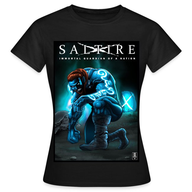 Saltire Invasion TShirt Women's
