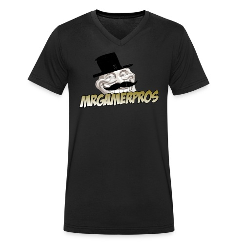 MrGamerPros Gold V-Ausschnitt - Männer Bio-T-Shirt mit V-Ausschnitt von Stanley & Stella