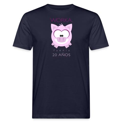 WORKA 20 años chico. - Camiseta ecológica hombre