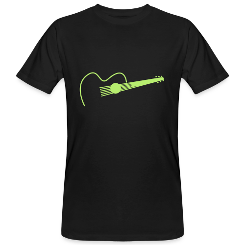 Guitar Player - Männer Bio-T-Shirt