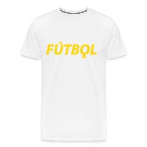 Futbol - Mannen Premium T-shirt