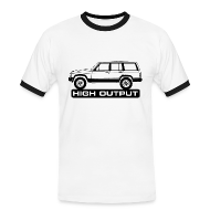 T-skjorter ~ Kontrast-T-skjorte for menn ~ Jeep XJ High Output