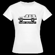 T-skjorter ~ T-skjorte for kvinner ~ Jeep XJ High Output