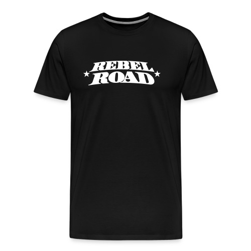Men's Classic T Stacked Logo - Men's Premium T-Shirt