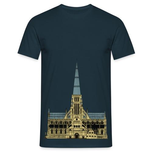 Old St. Paul's (Lower Front) - Men's T-Shirt
