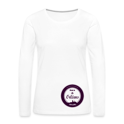 Made in Orléans 55 - T-shirt manches longues Premium Femme