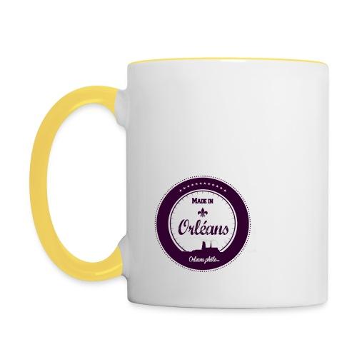 Made in Orléans 69 - Mug contrasté