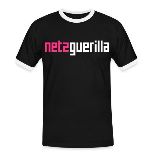 netzguerilla shirt - Männer Kontrast-T-Shirt