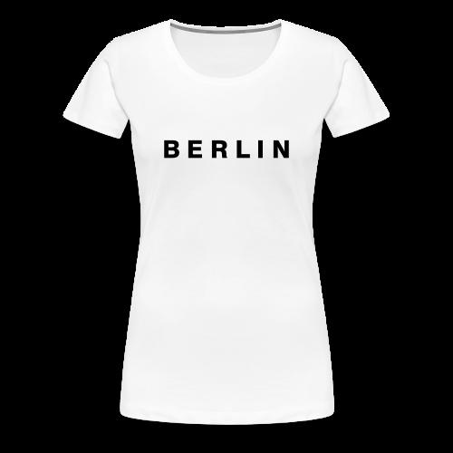 Berlin T-Shirt (Damen Weiß) - Frauen Premium T-Shirt