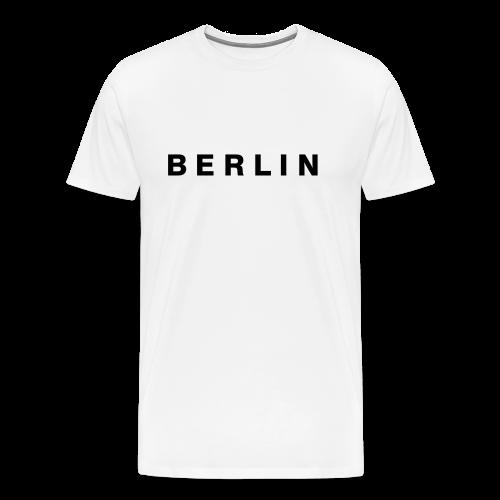 Berlin T-Shirt (Herren Weiß) - Männer Premium T-Shirt