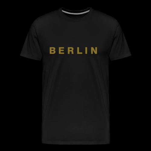 Berlin T-Shirt (Gold) Herren - Männer Premium T-Shirt