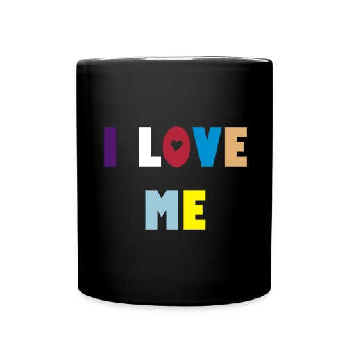 i love me - Taza de un color