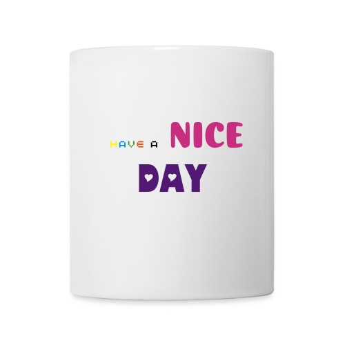 Taza, cup have a nice day - Taza