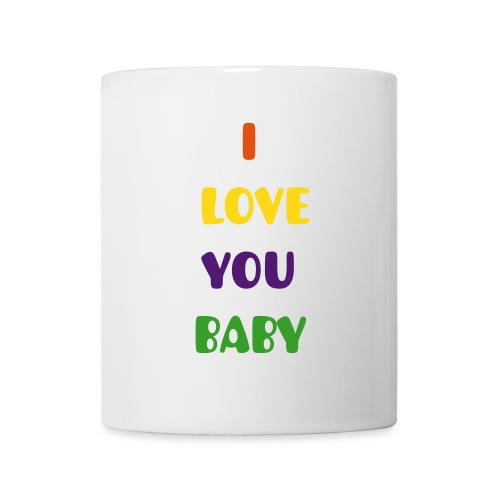 taza i love you baby - Taza