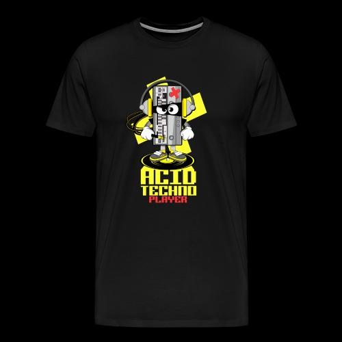 ACID ACID TECHNO PLAYER - Men's Premium T-Shirt