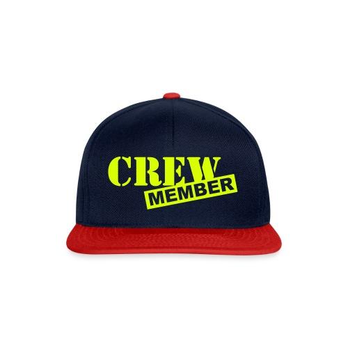 Crew Member Baseball Cap - Snapback Cap