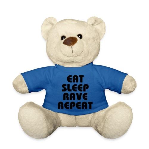 Eat sleep Rave Repeat knuffel beest - Teddy
