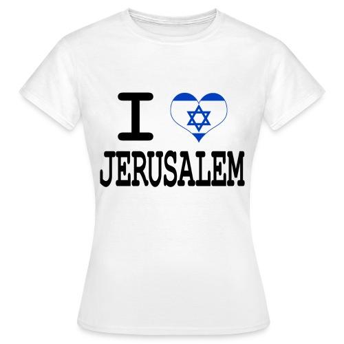 T-Shirt Femme Love jerusalem - T-shirt Femme