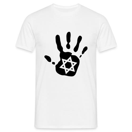 T-Shirt Homme Main Etoile - T-shirt Homme