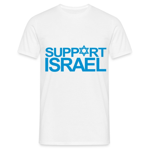 T-Shirt Homme Support Israel - T-shirt Homme