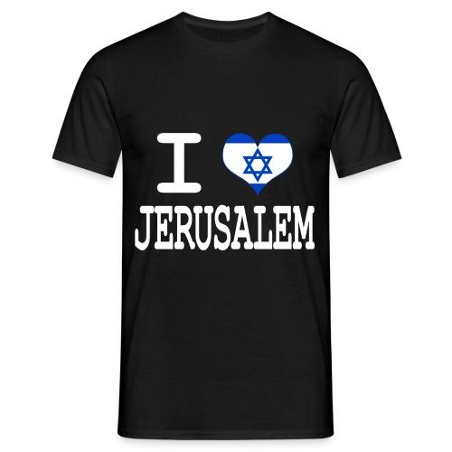 T-Shirt Homme Love Jerusalem - T-shirt Homme